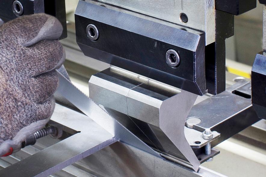 Расчет усилия гибки листового металла