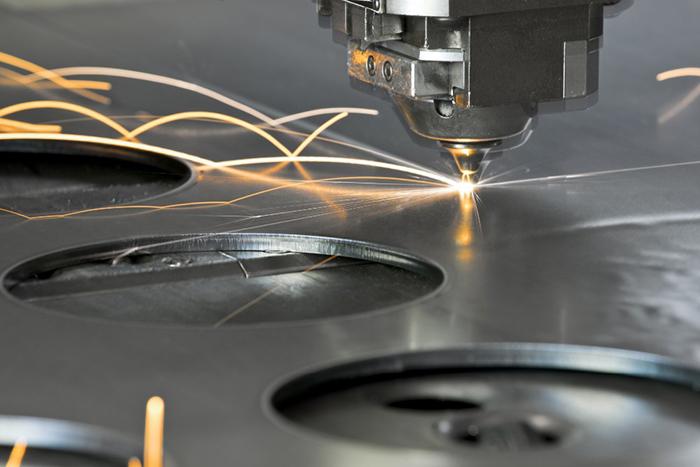 Лазерная резка нержавеющей листовой стали