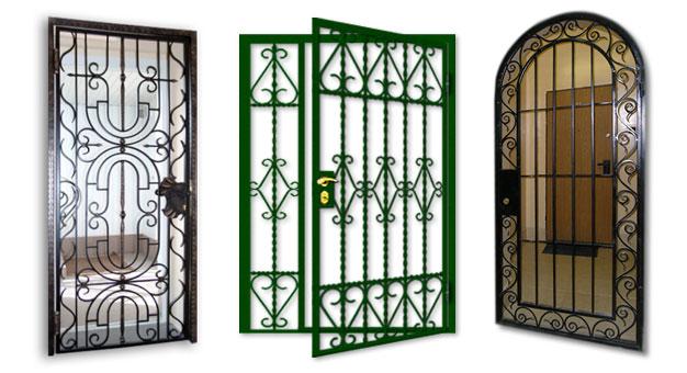 Решетки на входные, подвальные двери