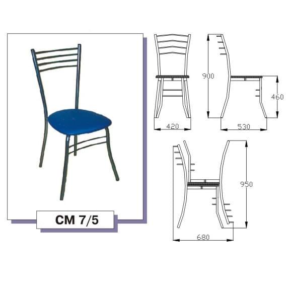 Изготовление металлических каркасов для стульев